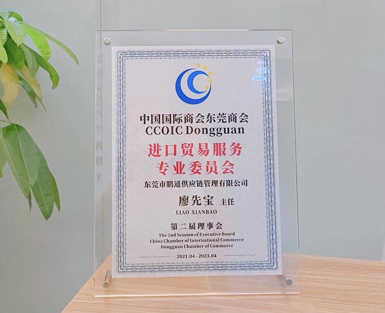 鹏通&国际商会进口贸易服务专业委员会